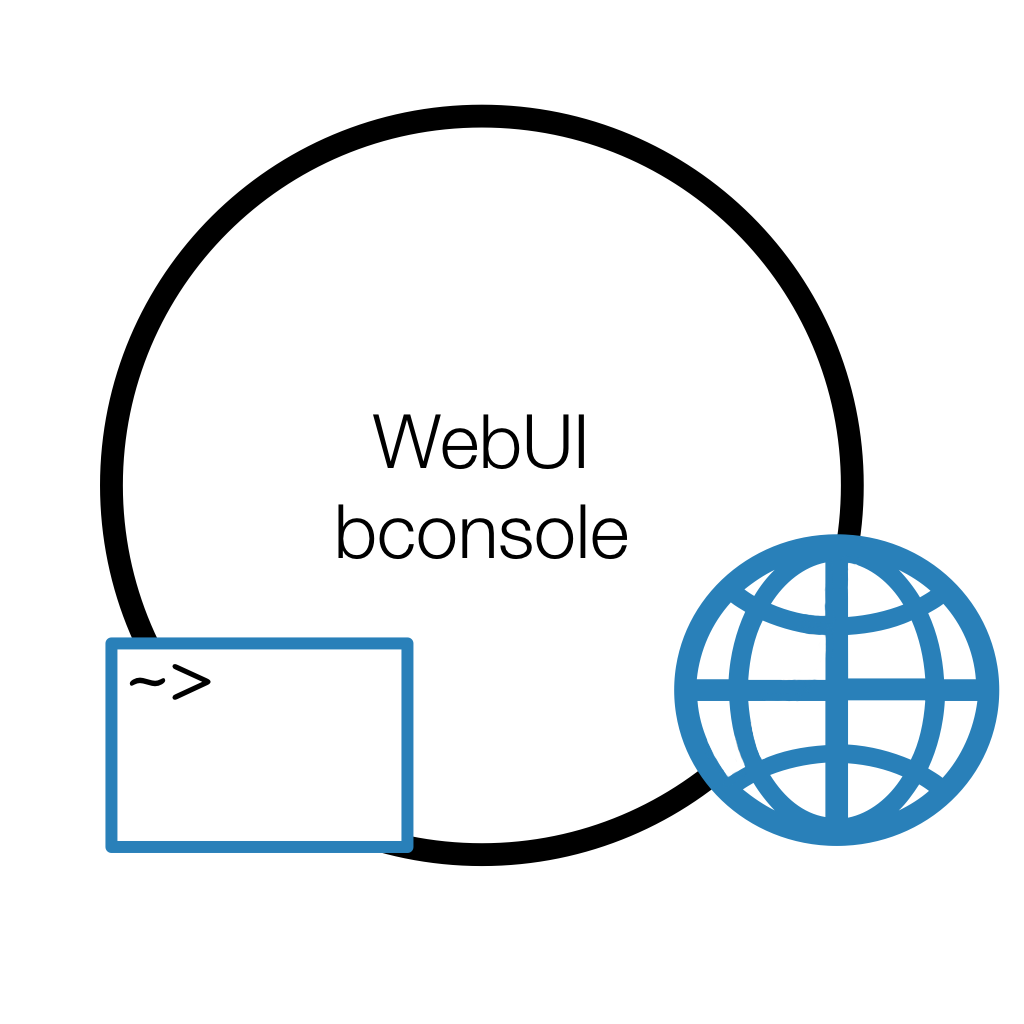 The WebUI is a graphical web interface for Bareos