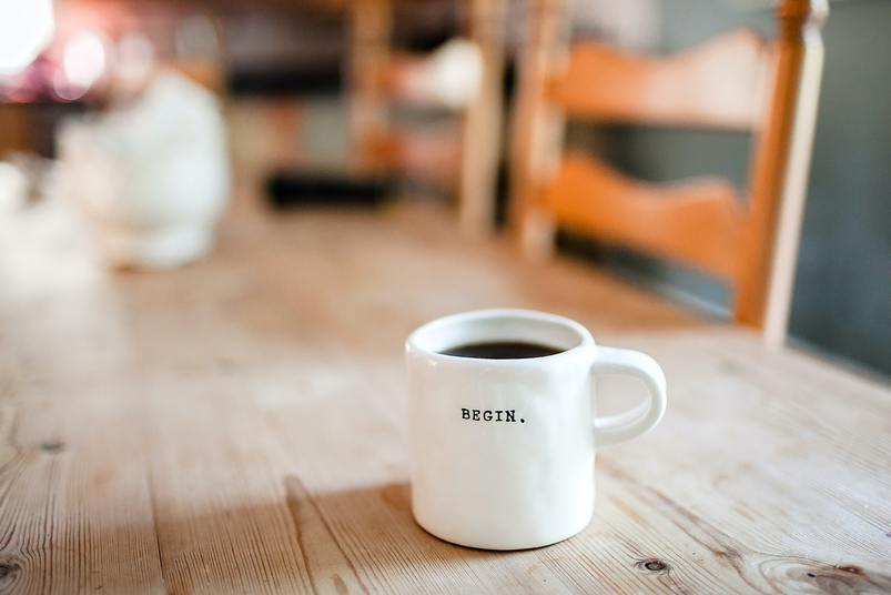 A cup of coffee: This is a good way to start Bareos online workshops