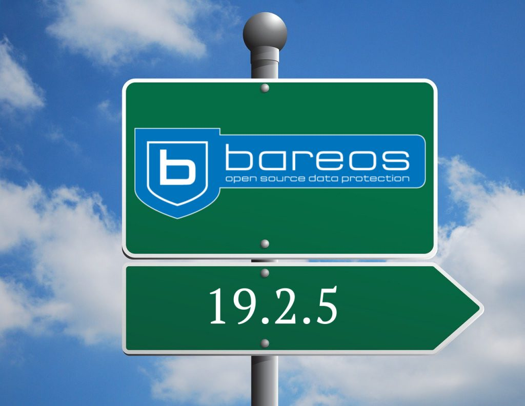 Bareos 19.2.5 has been released